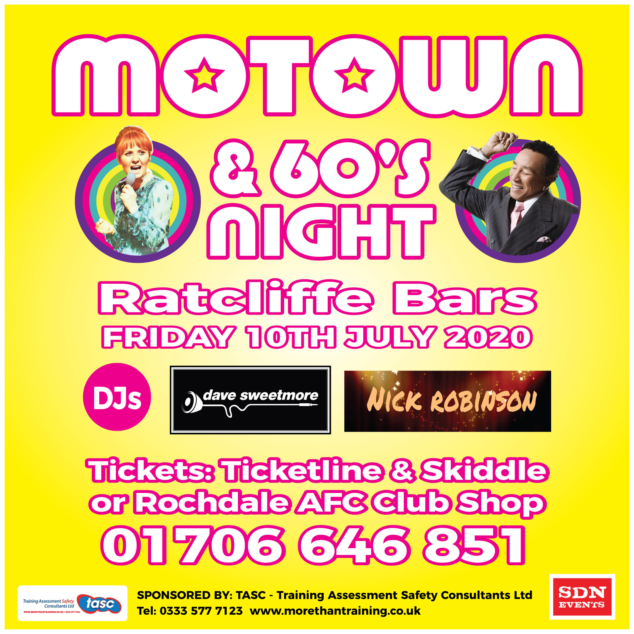 Motown & 60's Dance Party